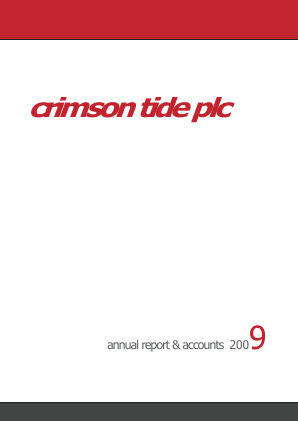 Crimson Tide Plc annual report 2009