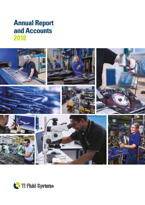 TI Fluid Systems annual report 2018