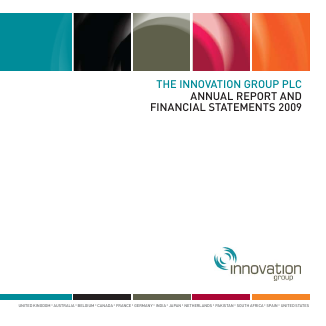 Innovation Group annual report 2009