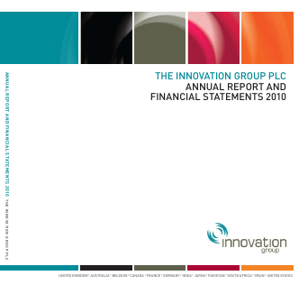 Innovation Group annual report 2010