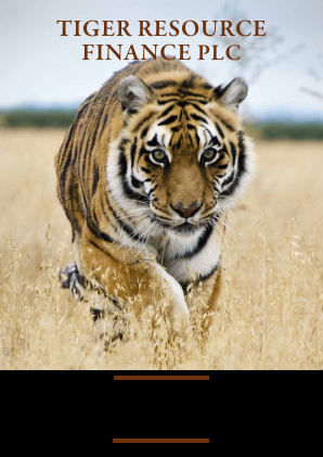 Tiger Resource Finance annual report 2016
