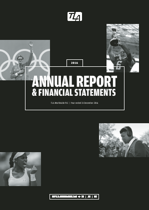 TLA Worldwide Plc annual report 2016