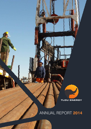 Tlou Energy annual report 2014