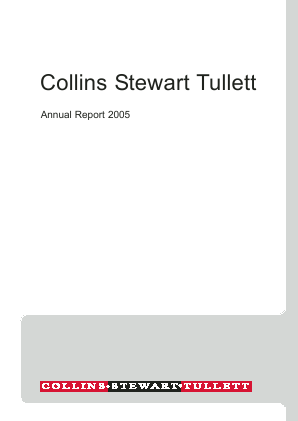 TP ICAP (Previously Tullett Prebon) annual report 2005
