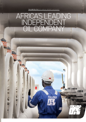 Tullow Oil Plc annual report 2015