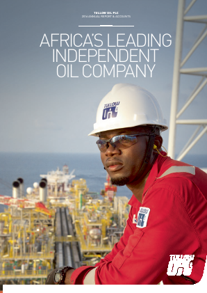 Tullow Oil Plc annual report 2016