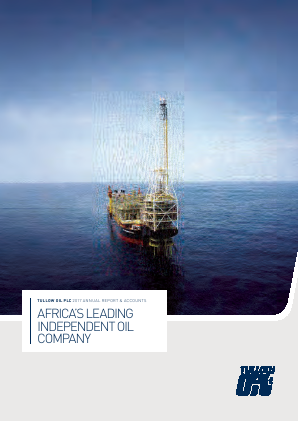 Tullow Oil Plc annual report 2017