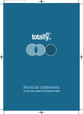 Totally annual report 2009