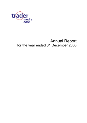 Trader Media East annual report 2006