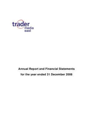 Trader Media East annual report 2008