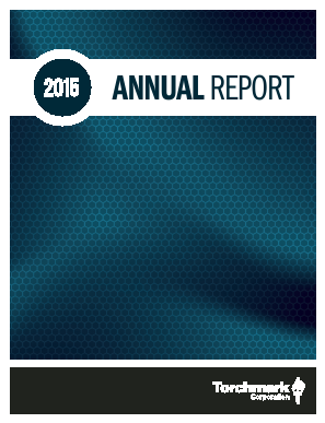 Torchmark Corp annual report 2015
