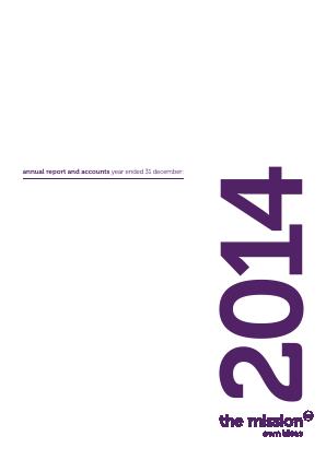 Mission Marketing Group annual report 2014