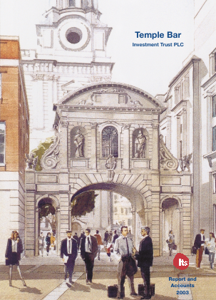 Temple Bar Investment Trust annual report 2003