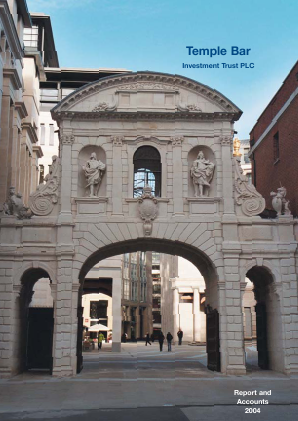 Temple Bar Investment Trust annual report 2004