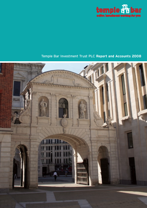 Temple Bar Investment Trust annual report 2008