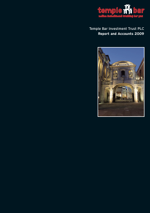 Temple Bar Investment Trust annual report 2009