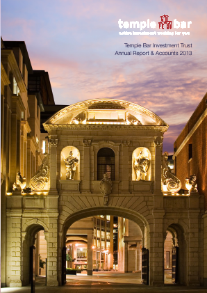 Temple Bar Investment Trust annual report 2013