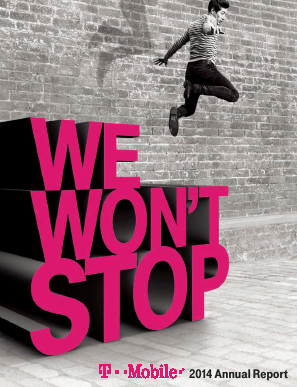 T-Mobile US, Inc. annual report 2014