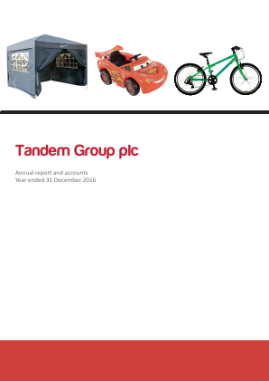 Tandem Group annual report 2016