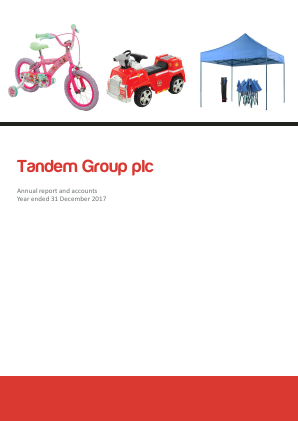 Tandem Group annual report 2017