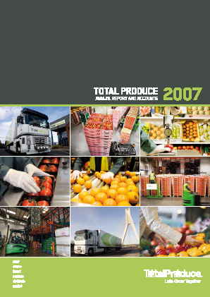 Total Produce Plc annual report 2007