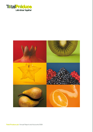 Total Produce Plc annual report 2009