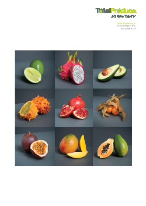 Total Produce Plc annual report 2010