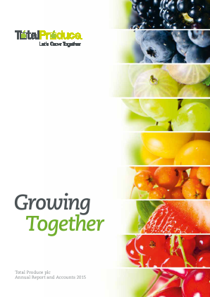 Total Produce Plc annual report 2015