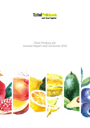 Total Produce Plc annual report 2016