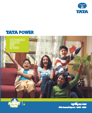 Tata Power Co annual report 2009