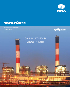 Tata Power Co annual report 2012