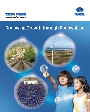 Tata Power Co annual report 2017