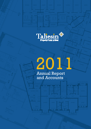 Taliesin Property Fund annual report 2011