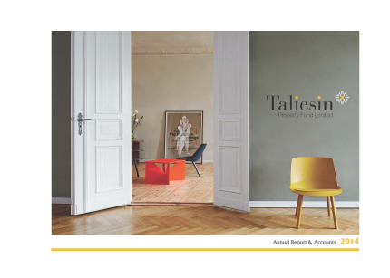 Taliesin Property Fund annual report 2014