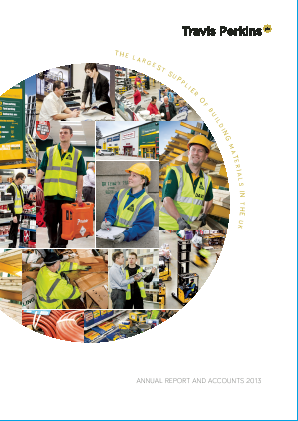 Travis Perkins annual report 2013