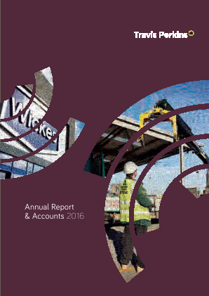 Travis Perkins annual report 2016