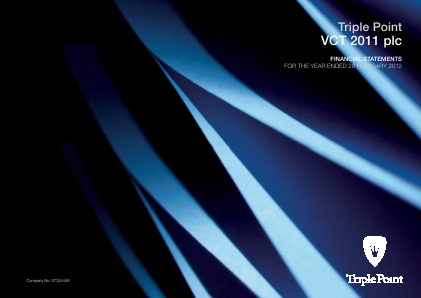 Triple Point VCT 2011 Plc annual report 2012
