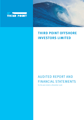 Third Point Offshore Investors annual report 2008