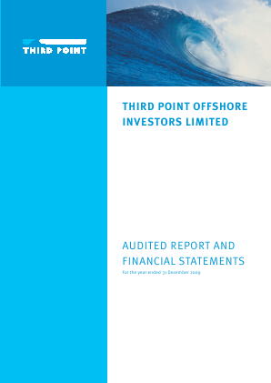 Third Point Offshore Investors annual report 2009