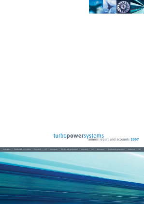 Turbo Power Systems Inc annual report 2008