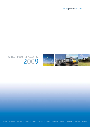 Turbo Power Systems Inc annual report 2009