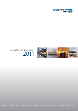 Turbo Power Systems Inc annual report 2011