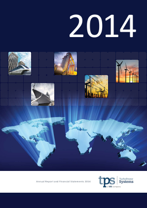 Turbo Power Systems Inc annual report 2014