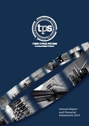 Turbo Power Systems Inc annual report 2015