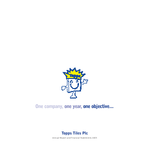 Topps Tiles Plc annual report 2005