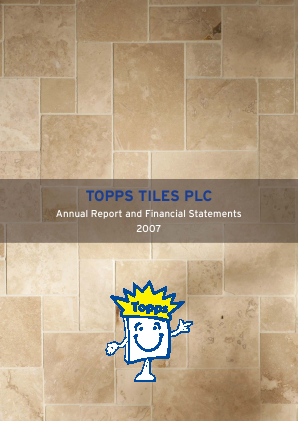 Topps Tiles Plc annual report 2007