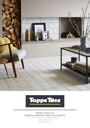 Topps Tiles Plc annual report 2015