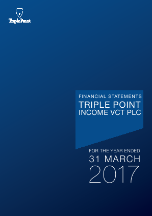 Triple Point Income VCT Plc annual report 2017