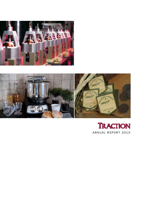 Traction annual report 2010