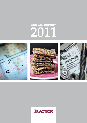 Traction annual report 2011